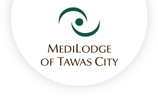 Medilodge of tawas city web logo